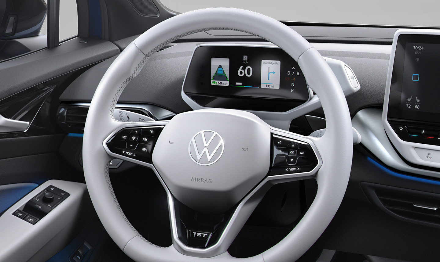 Driver Information and Steering Wheel