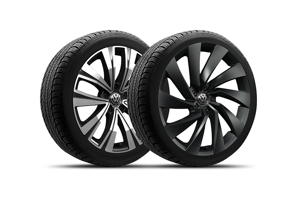 "Available 18"" and 20"" alloy wheels"