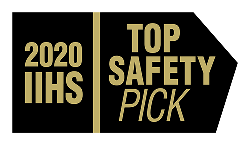 Named a 2020 IIHS Top Safety Pick