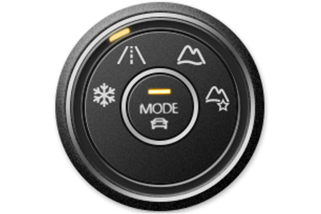 Mode controller: On-road mode