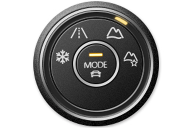 Mode controller: Off-road mode