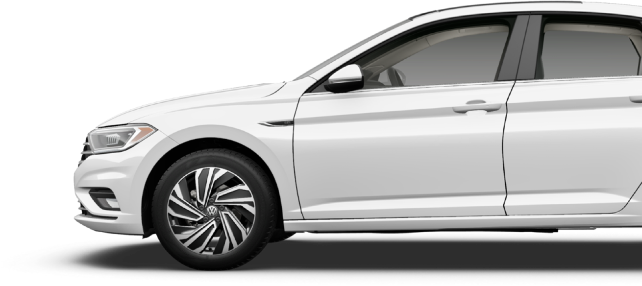 2020 Jetta Driver Side View